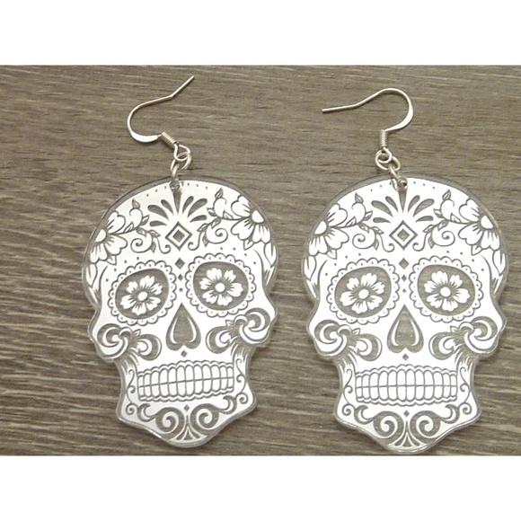 cca19dbae Jewelry | Sugar Skull Earrings | Poshmark